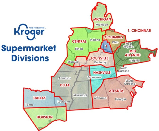 Supermarket Divisions