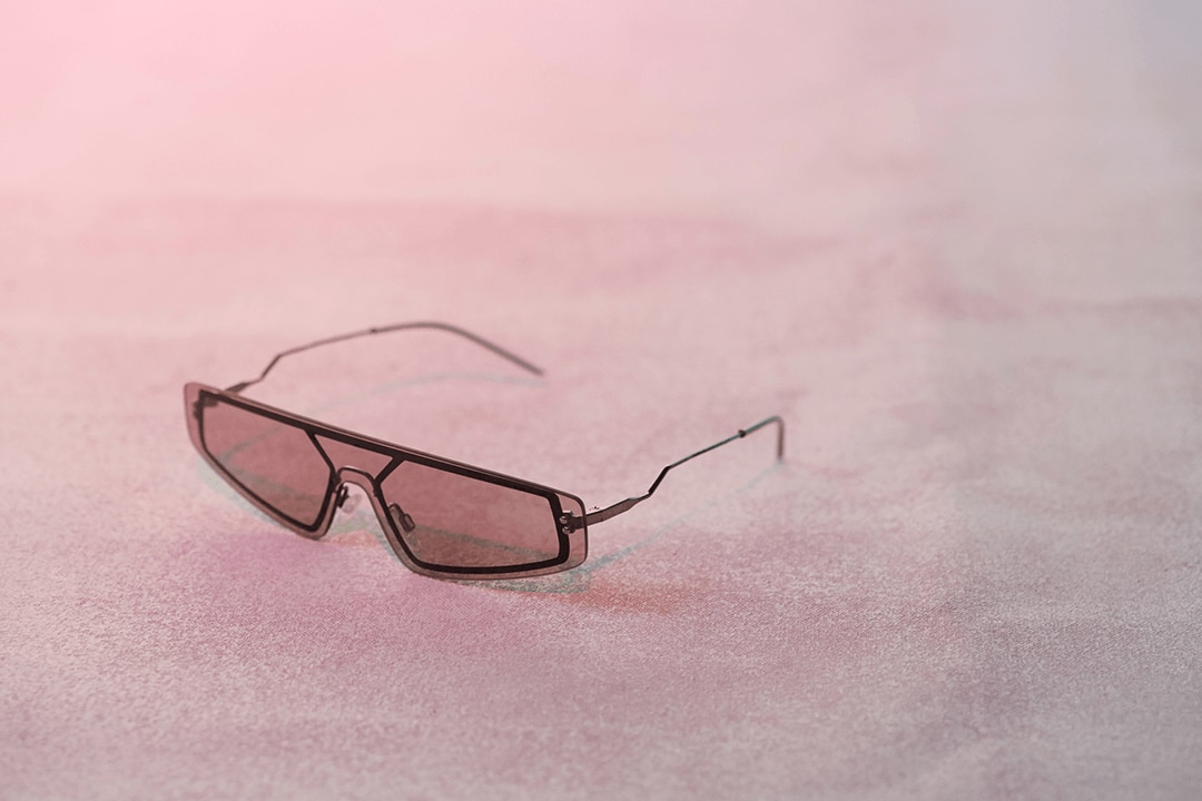 Image of pink sunglasses from Sunglass Hut