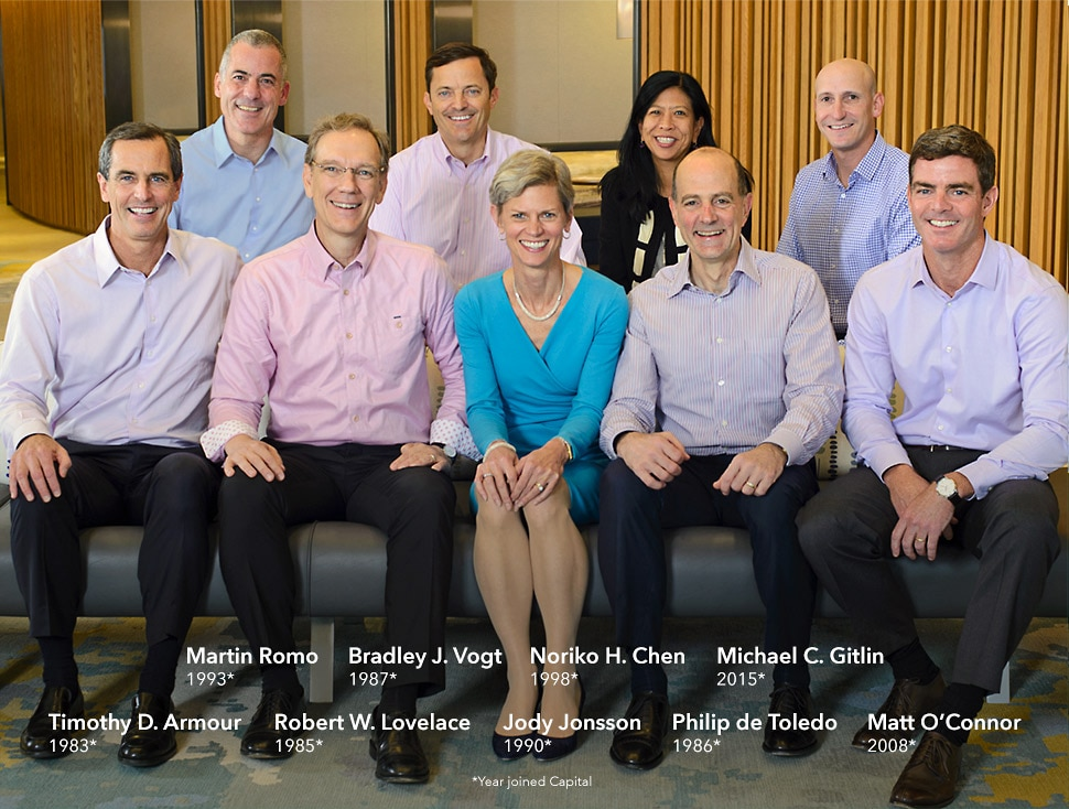 THE CAPITAL GROUP MANAGEMENT COMMITTEE