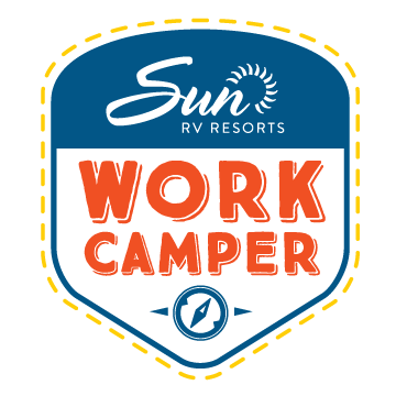 cbd45570fd What could be better than earning a living while traveling the US in your  RV  Sun RV Resort s Work Camper program enables you to do just that!