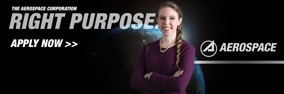 The Aerospace Corporation Right Purpose Banner