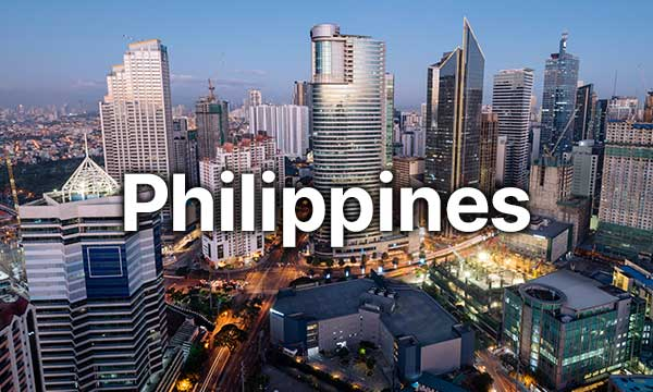 Scenic landscape of Philippines