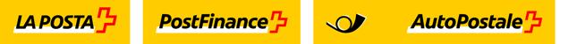 Logo La Poste AutoPostale PostFinance