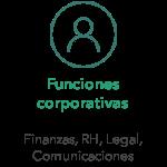 Funciones corporativas