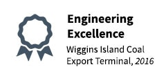 2016 Award of Excellence - Wiggins Island