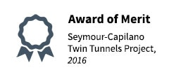 2016 Merit Award - Twin Tunnels