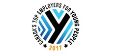 2017 Canada's best Young Person's employer