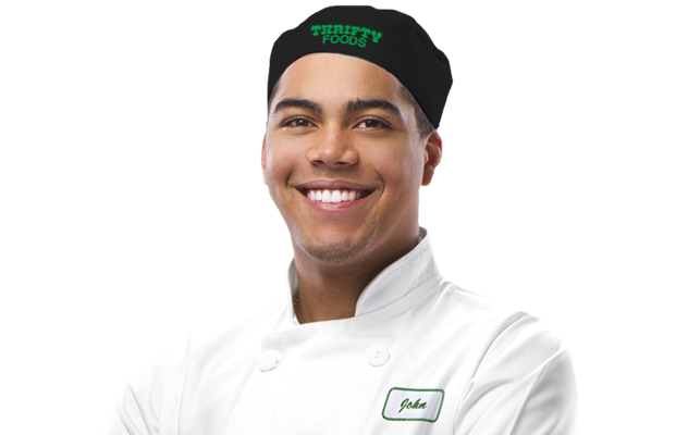 Boulanger Thrifty Foods tout sourire