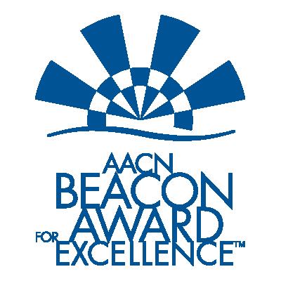 AACN Beacon Award for Excellence logo