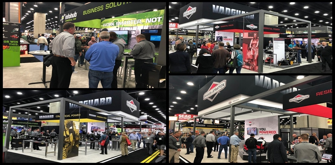 It was another great year at the 2018 GIE+ EXPO, the largest showcase for outdoor power equipment and lawn and garden products. We showcased new products, power and technology under our Briggs & Stratton, Billy Goat, Ferris, InfoHub, Simplicity, Snapper, Snapper Pro and Vanguard brands!