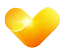 Thomas Cool gold heart logo