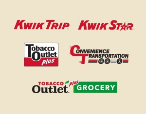 Kwik Trip brand logos