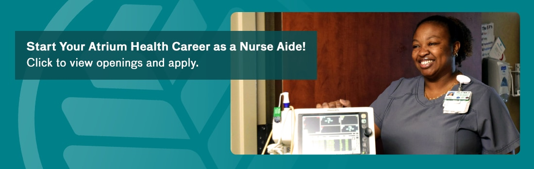 Apply to our Nurse Aide positions today!