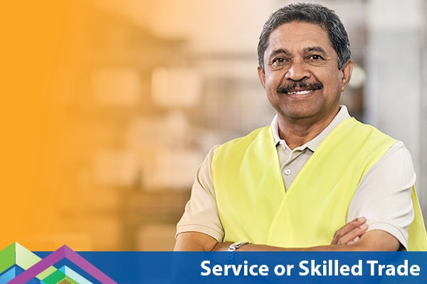 Service or Skilled Trade
