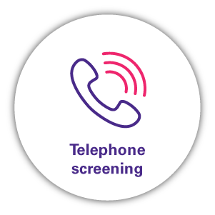 Telephone screening